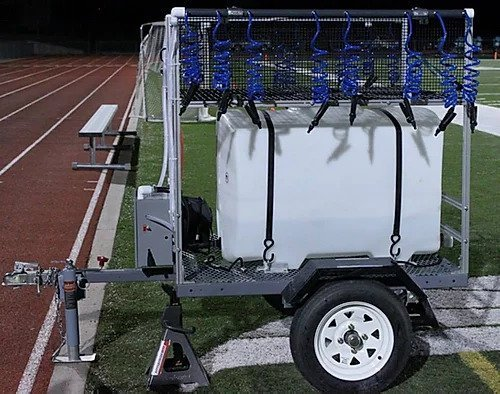 100 Gallon Rechargeable Football Hydration Station   Made In USA & New Low Price!