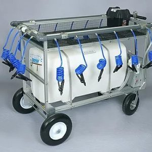 50 Gallon Rechargeable Portable Water Wagon | Made In USA & New Low Price