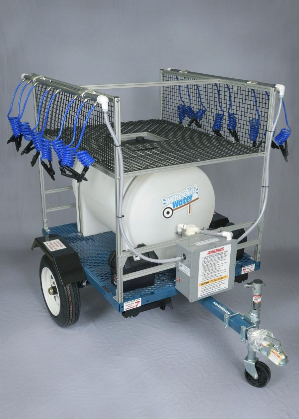 65 Gallon Rechargeable Football Water Station | Made In USA | New Low Price!