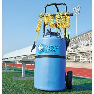 Sports Cool Rolling Powered Team Drinker | Sports Water Station Serves 6