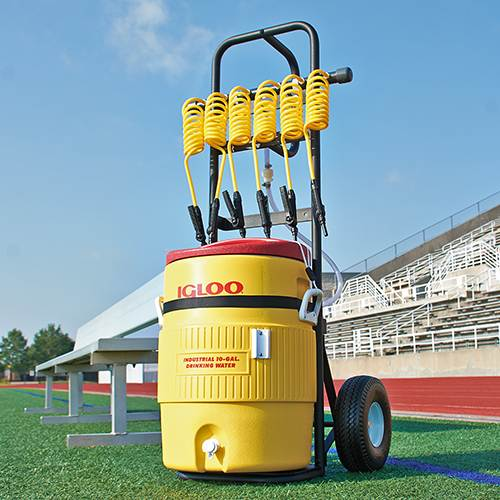 6 Player Constant Chill Sports Water Cooler Cart | Your Rolling Hydration Solution W/ Lowest Cost