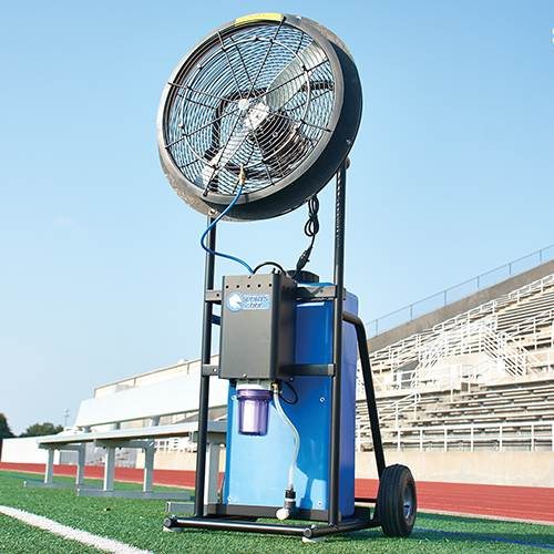 Misting Fans For Team Cooling | Our New Outdoor Portable Cooling System