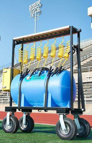 Team Sports Hydration Station - Rechargeable 35 Gallon Tanker For 8 Players