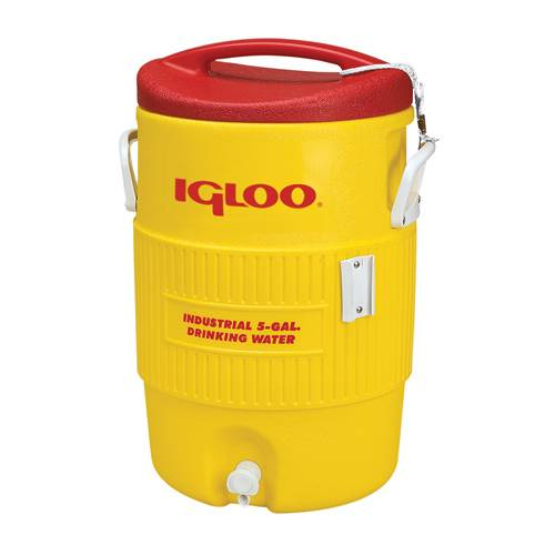 Rolling Team Rolling Cooler Cart & Optional 5 + 10 Gallon Igloo Coolers